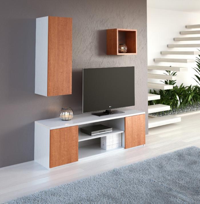 Base TV 1600 | Modulo 1P 1000 | Cubo IZI 27